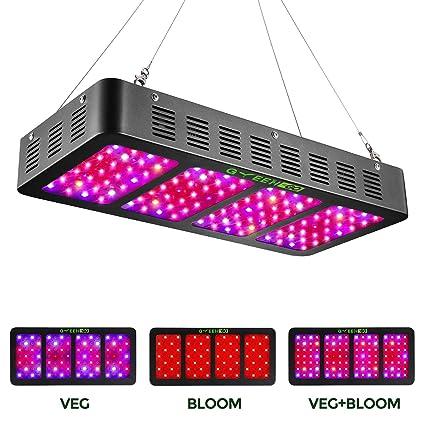 Amazon.com: Greengo - Luz LED para crecimiento de plantas ...
