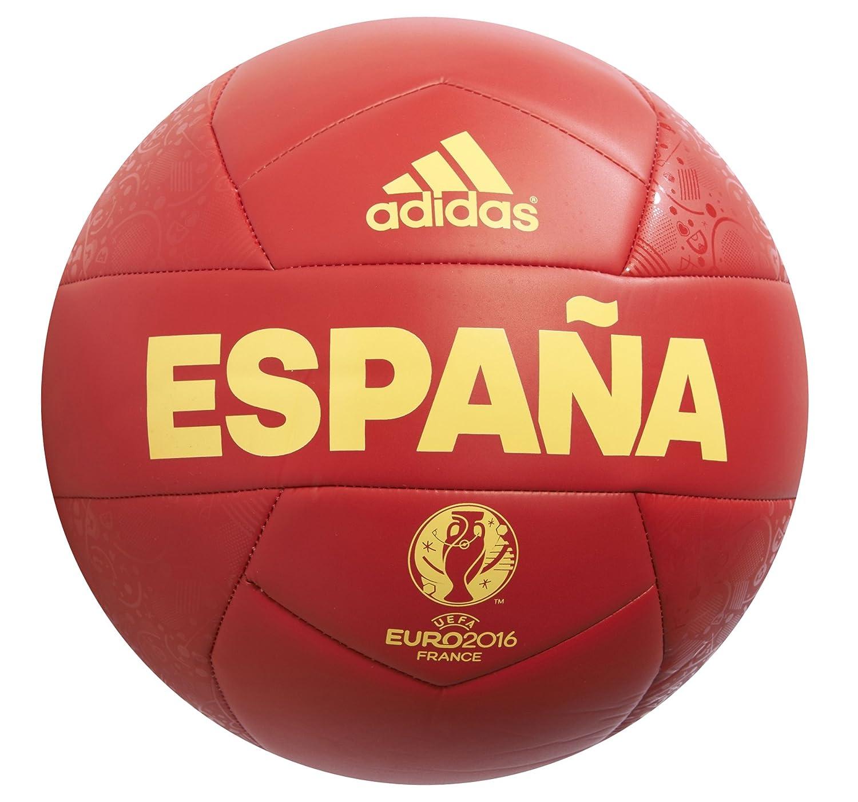 adidas España Capitano Euro 16 OLP Bola, Scarle/EQTYEL: Amazon.es: Deportes y aire libre