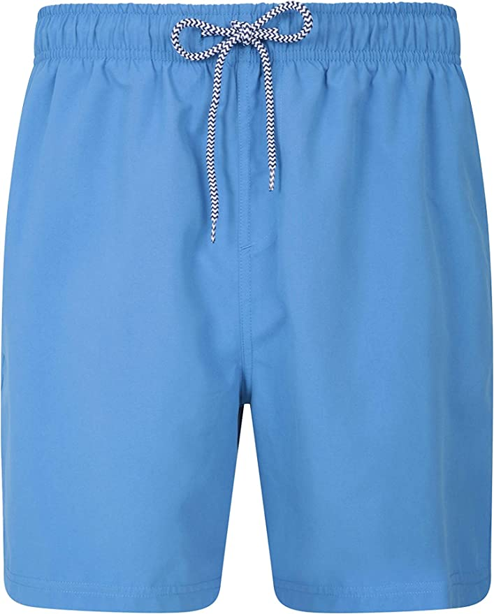 Mountain Warehouse Aruba Printed Mens Swimshorts with Adjustable Drawcord