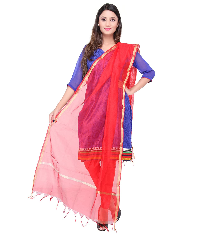 Dupatta Bazaar Indian Plain Silk Dupatta,Stole, Scarf, Chunni for Woman DB0892