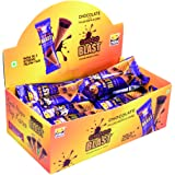 Pure Temptation Chocoblast Chocolate Flavour Filled Waffle Cone,375gms-1x25 Dispensor Pack