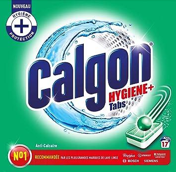 Calgon - Pack de 17 pastillas antical para higiene Plus: Amazon.es ...