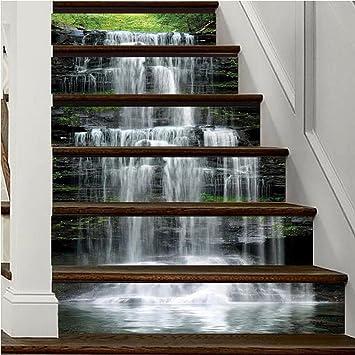 Escaliers Papier Peint Auto Adhesif Chutes D Eau Etapes De