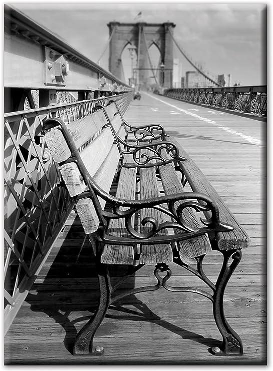 New York City Brooklyn Bridge Souvenir Foto Magnet Fridge,Neu