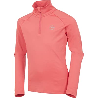Rossignol Girl 1/2-Zip Warm Stretch Turtleneck Mid-Layer Girls