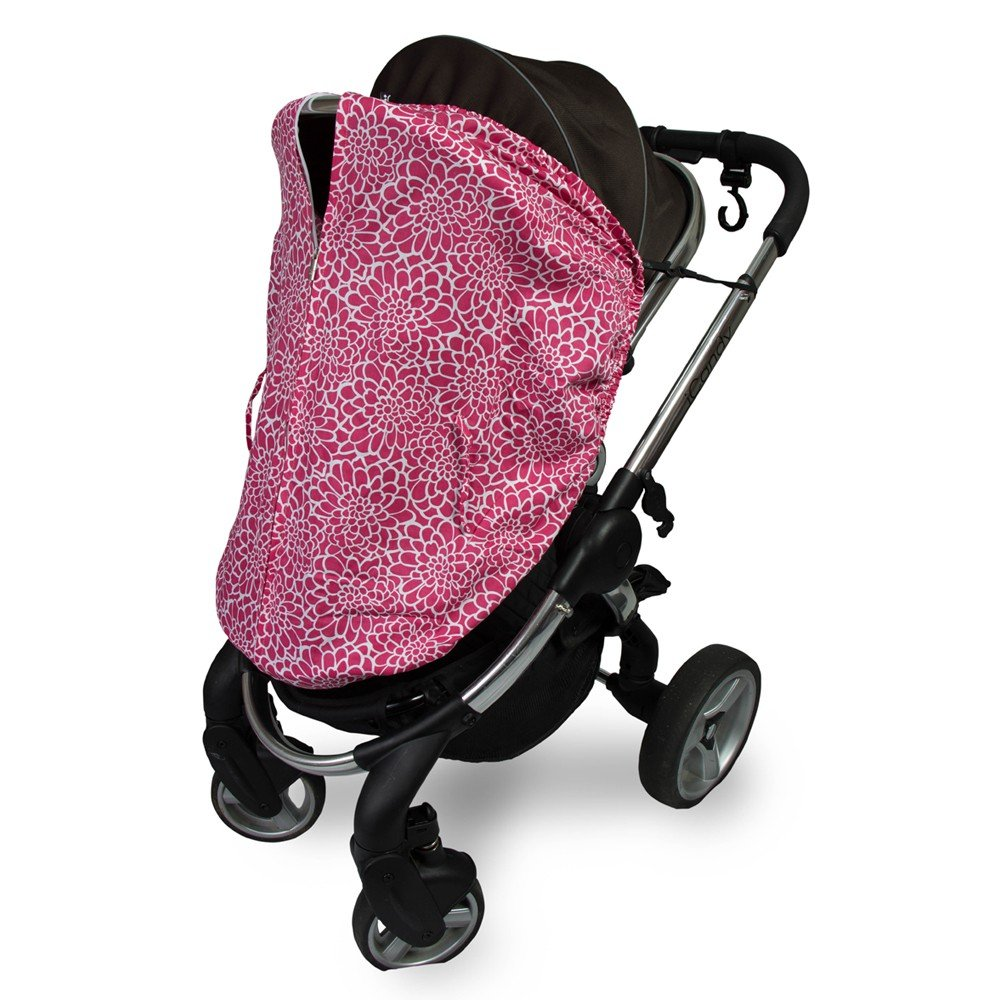 Outlook Universal Cotton Sleep Eazy Stroller Cover (Rose Lace)