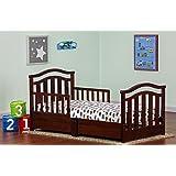 Amazon Com Sorelle Joel Toddler Bed Cherry Childrens