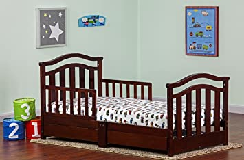 Amazoncom Dream On Me Elora Collection Toddler Bed With Storage