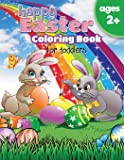 Happy Easter Coloring Book For Toddlers (ages 2+)