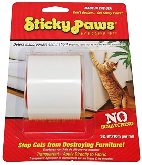 Fabulous Sticky Paws Scratch Control Cat Training Aid Scratch Deterrent Ibusinesslaw Wood Chair Design Ideas Ibusinesslaworg