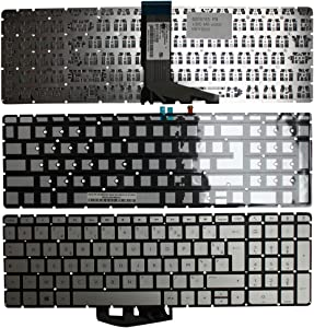 Keyboards4Laptops French Layout Backlit Silver Windows 8 Laptop Keyboard Compatible with HP Envy M6-W015DX, HP Envy M6-W101DX, HP Envy M6-W102DX, HP Envy M6-W103DX, HP Envy M6-W105DX