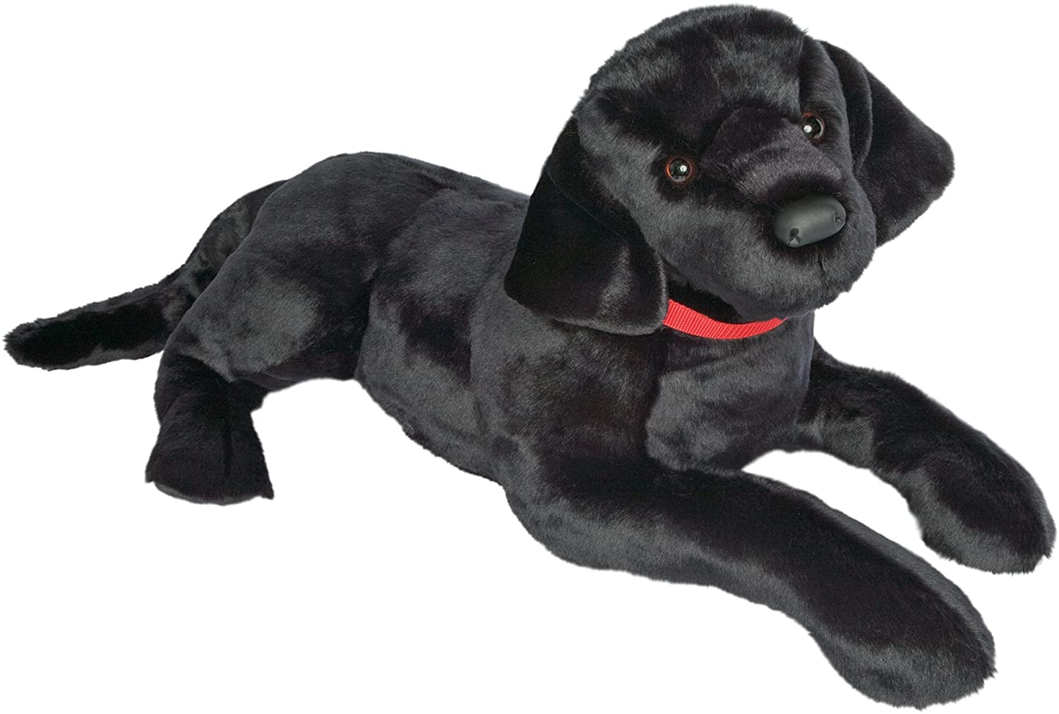 Amazon Com Douglas Toy Plush Dickens Black Lab 32 Long Toys Games