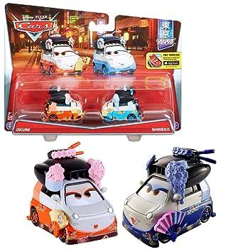 Disney Cars Cast 1:55 - Selección Modelos de Vehículos Doble Pack, Cars Doppelpacks