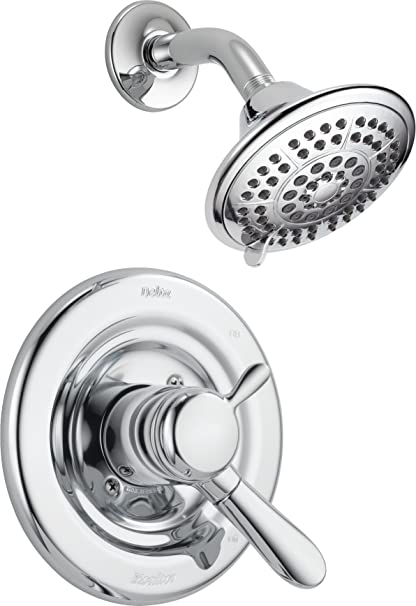 Delta T17238 Lahara 17 Series Dual Function Shower Trim Kit With 5 Spray  Touch