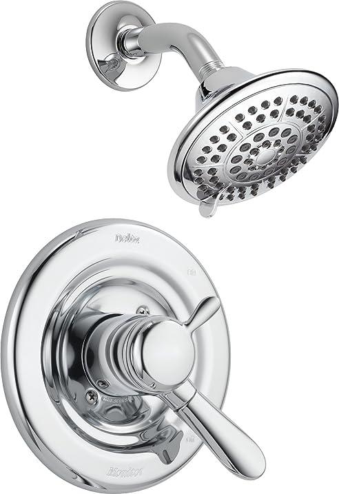 Delta Faucet T17238 Lahara Monitor 17 Series Shower Trim, Chrome ...