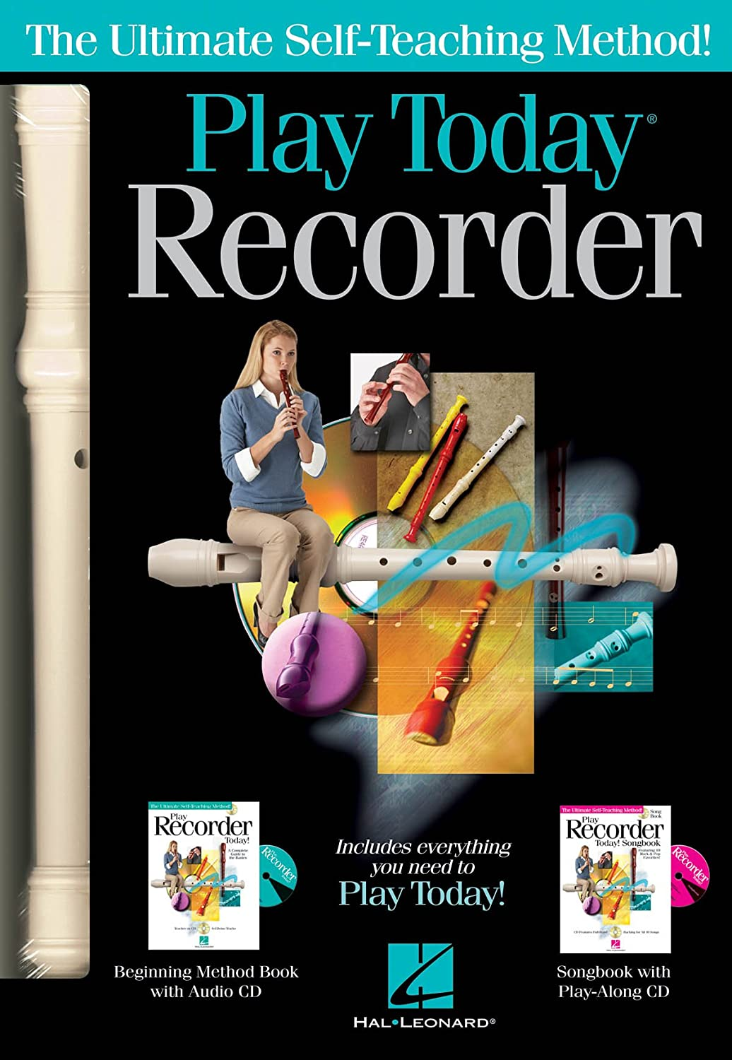Hal Leonard 119830 Play Recorder Today Complete Kit Hal Leonard Music Accessories