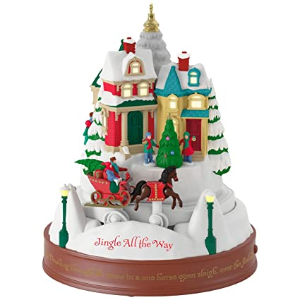 Jingle All the Way Musical Ornament With Light and Motion - Amazon.com: Jingle All The Way Musical Ornament With Light And