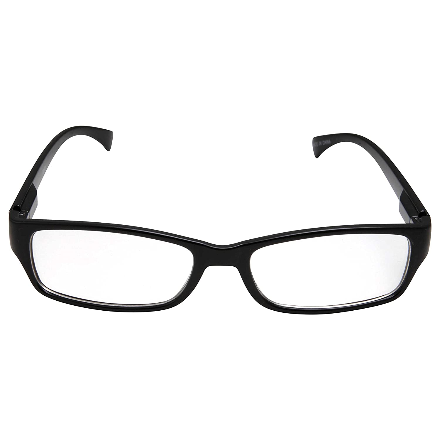 Age 6-12 grinderPUNCH 20101-GPK Kids Smart Looks Eye Glasses Rectangle Nerd Childrens Clear Lens