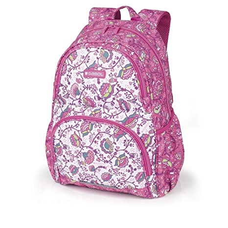 Mochila Escolar Gabol Magic Rosa
