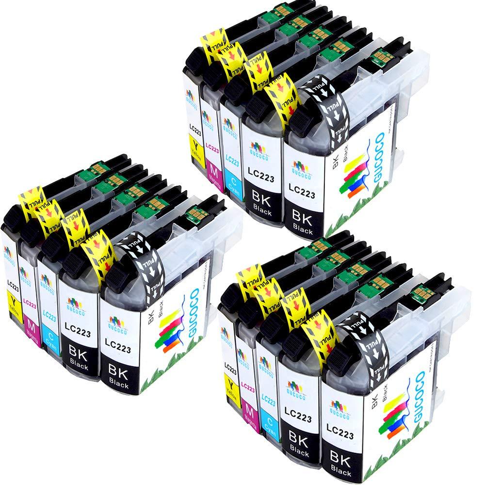 GUCOCO Compatible LC223XL Cartuchos de Tinta para Brother LC223 ...