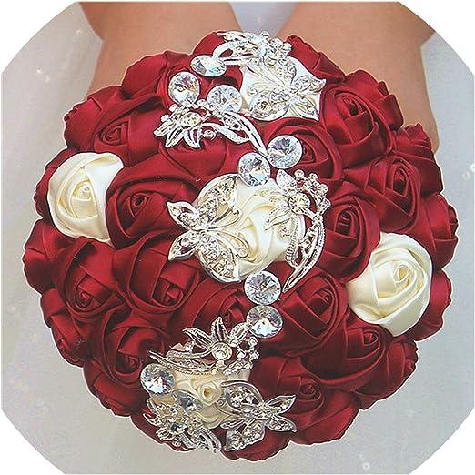 Amazon Com Camellia Store 15cm Of Handmade Flower Decoration