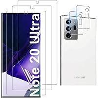 Luibor for Samsung Galaxy Note 20 Ultra Screen Protector[3 Pack]+ for Samsung Galaxy Note 20 Ultra Camera Lens Protector…