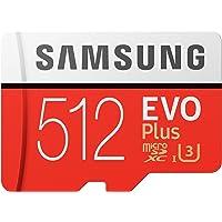 Samsung Micro SDXC 512GB EVO Plus/w Adapter UHS-1 SDR104 MB-MC512HA/APC