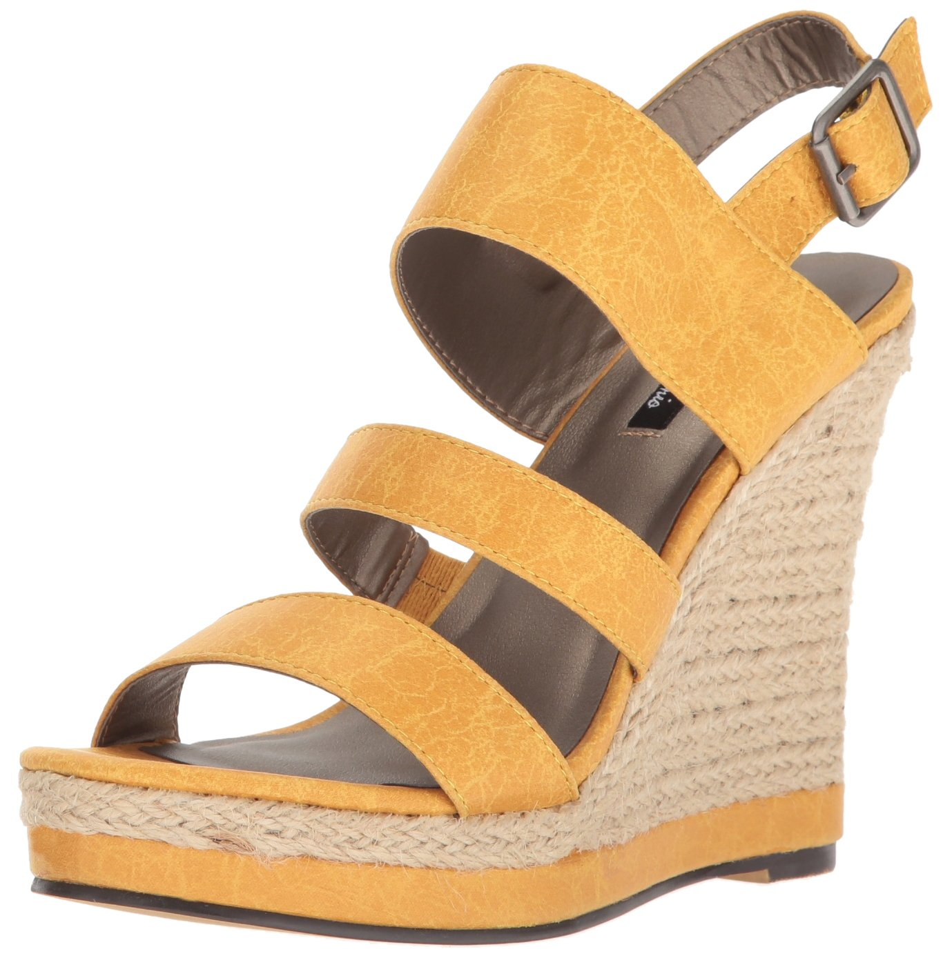 Michael Antonio Women's Givs Espadrille Wedge Sandal B01N063O4V 8.5 B(M) US|Yellow