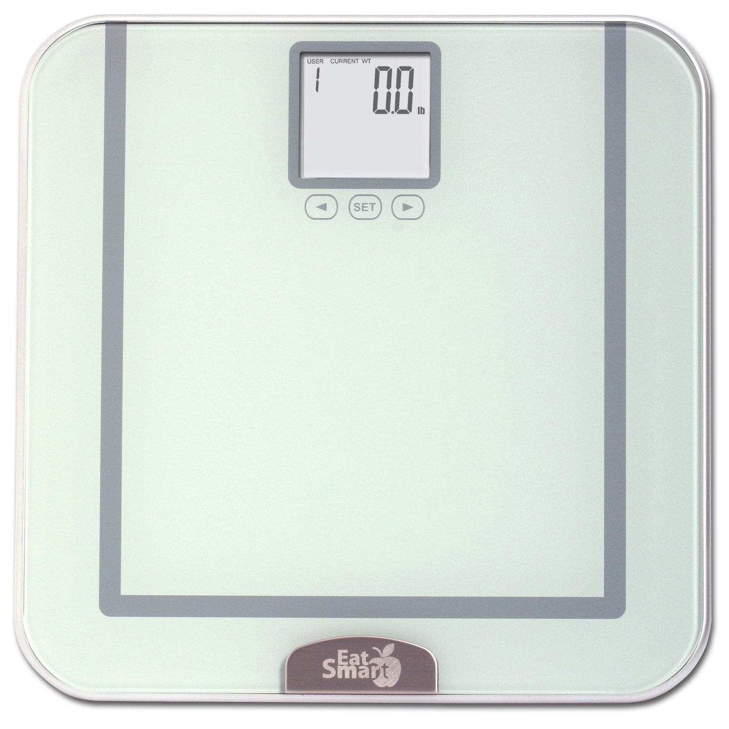 Bathroom scale accuracy consistency - Amazon Com Eatsmart Precision Tracker Digital Bathroom Scale W 400 Lb Capacity And Eatsmart Accutrack Software Silver Health Personal Care