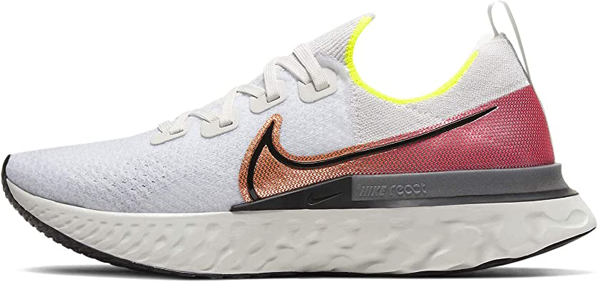 NIKE React Infinity Run Flyknit, Zapatillas de Running para Hombre: Amazon.es: Zapatos y complementos