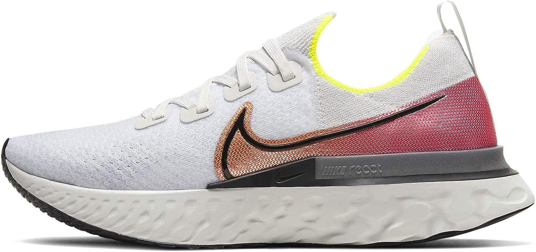 NIKE React Infinity Run Flyknit, Zapatillas de Running para Hombre: Amazon.es: Zapatos y complementos