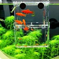 ETGtek(TM) 1pcs multifunzionale dei pesci di allevamento di isolamento di sicurezza Hanging Fish Tank Incubatore Acquario accessori