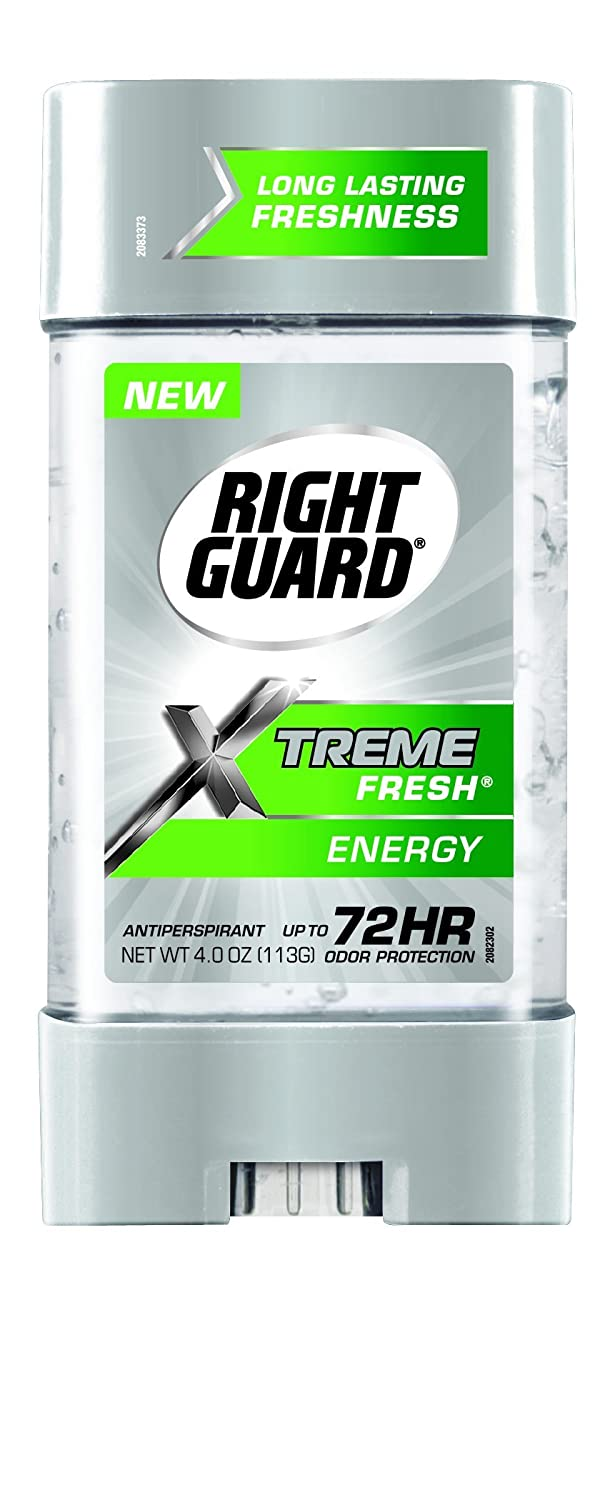Right Guard Xtreme Fresh Antiperspirant Deodorant, Energy, 4 Ounce