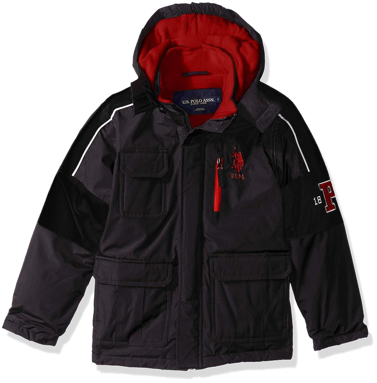 U.S. Polo Assn. Boys Stadium Parka Outerwear Jacket: Amazon.es ...