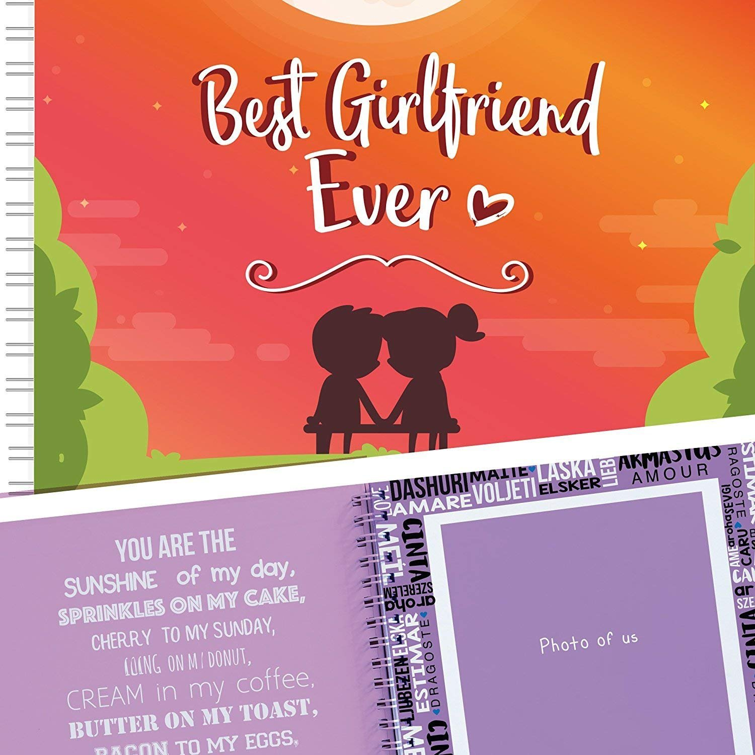 Amazon 5 Second Memory Book Best Girlfriend Ever Perfect