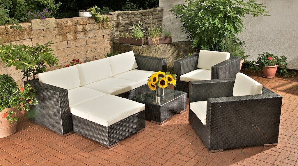 Loungembel terrasse gnstig cheap interesting rattan for Terrassen loungemobel gunstig