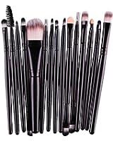 Han Shi Makeup Brushes, Fashion 15 pcs Eye Shadow Foundation Eyebrow Lip Brush Tool Set