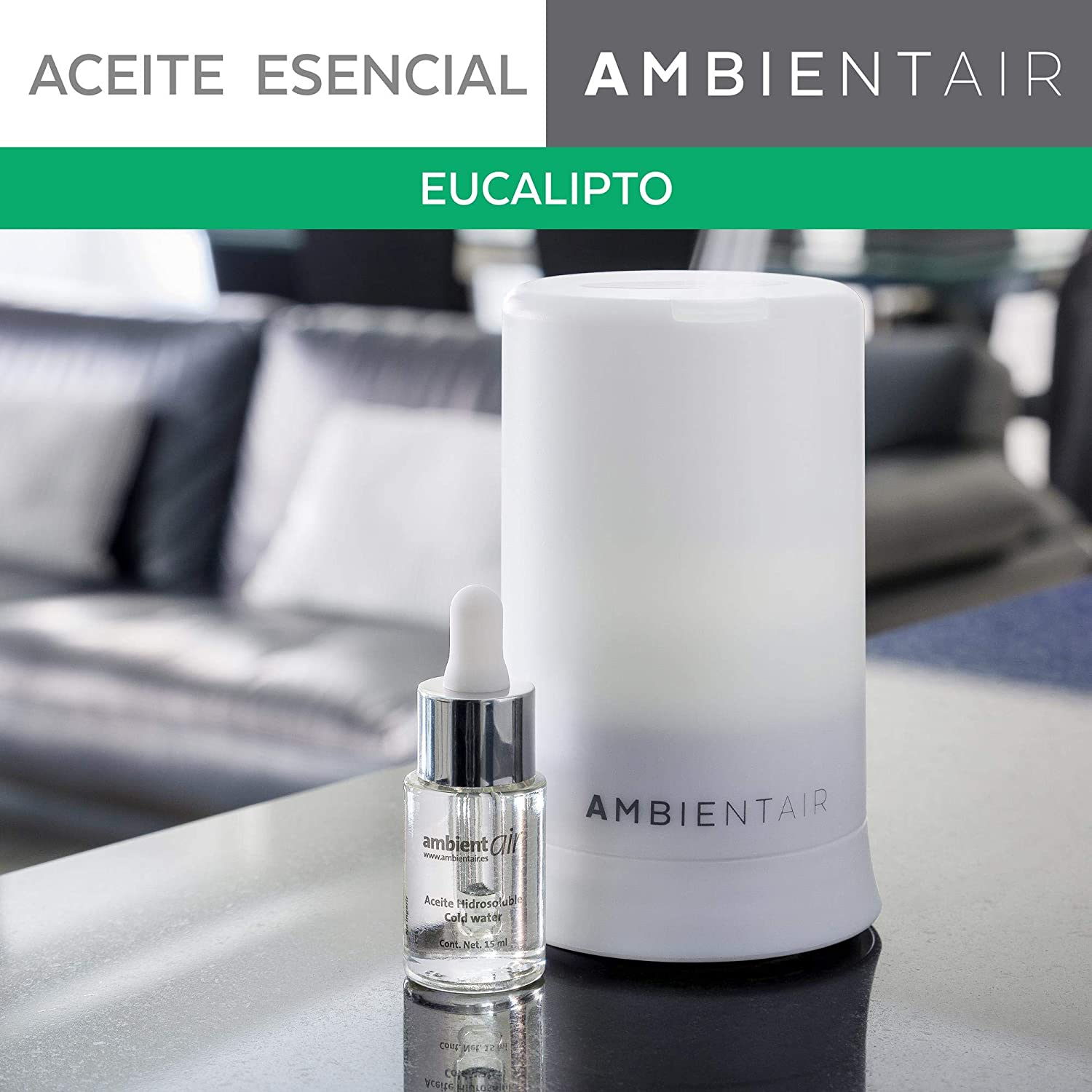 Ambientair. Aceite perfumado hidrosoluble 15ml. Aceite ...