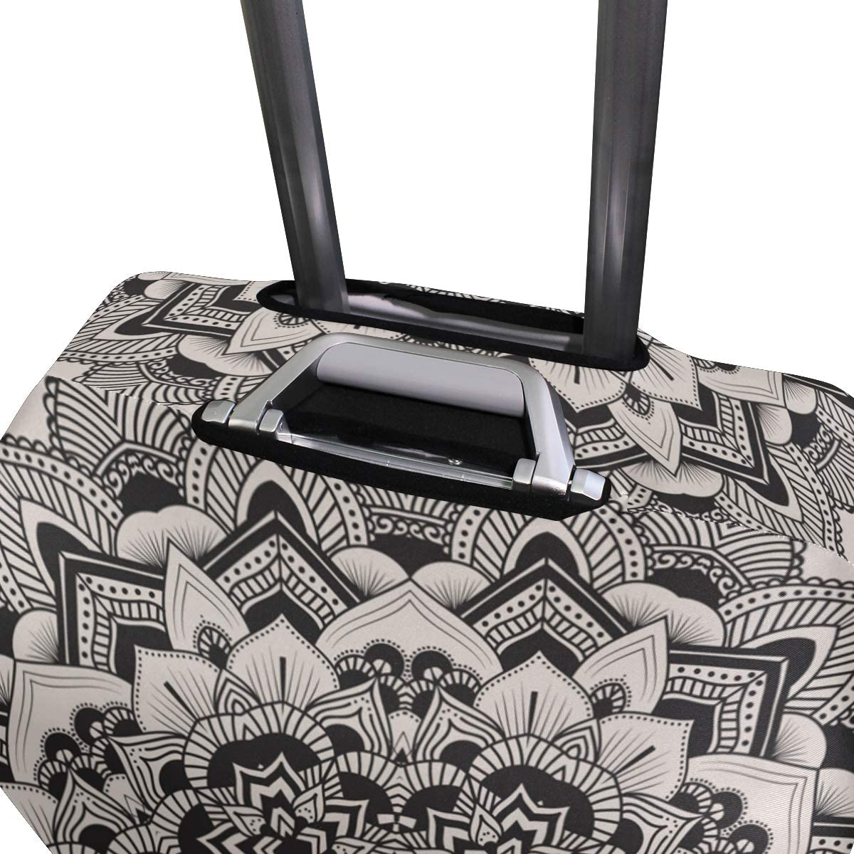 GIOVANIOR Ethnic Hippie Mandala Luggage Cover Suitcase Protector Carry On Covers