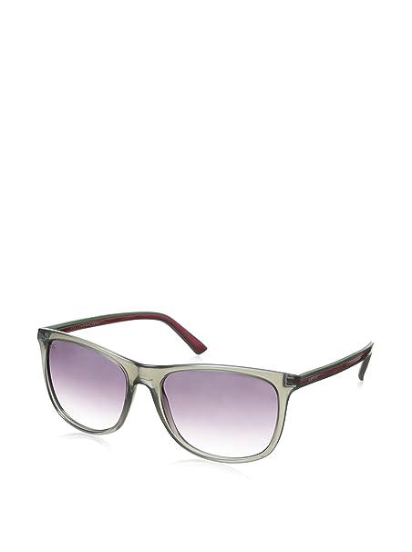 145db9b701 Gucci 1055S 0VU Sage Green Red 1055S Wayfarer Sunglasses Lens Category 2   Gucci  Amazon.ca  Clothing   Accessories