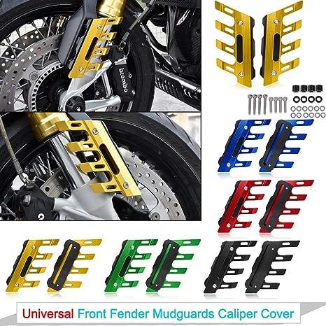 Amazon.com: Universal Front Fender Mudguards Cover Caliper ...