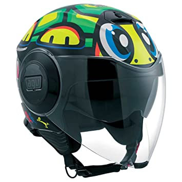 AGV Casco Moto Fluid E2205 Top DD, tortuga, ...