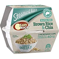 Sunrice Brown Rice and Chia Cup 250g
