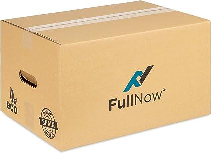 FULLNOW Pack 20 Cajas Cartón con Asas para Mudanza y Almacenaje ...