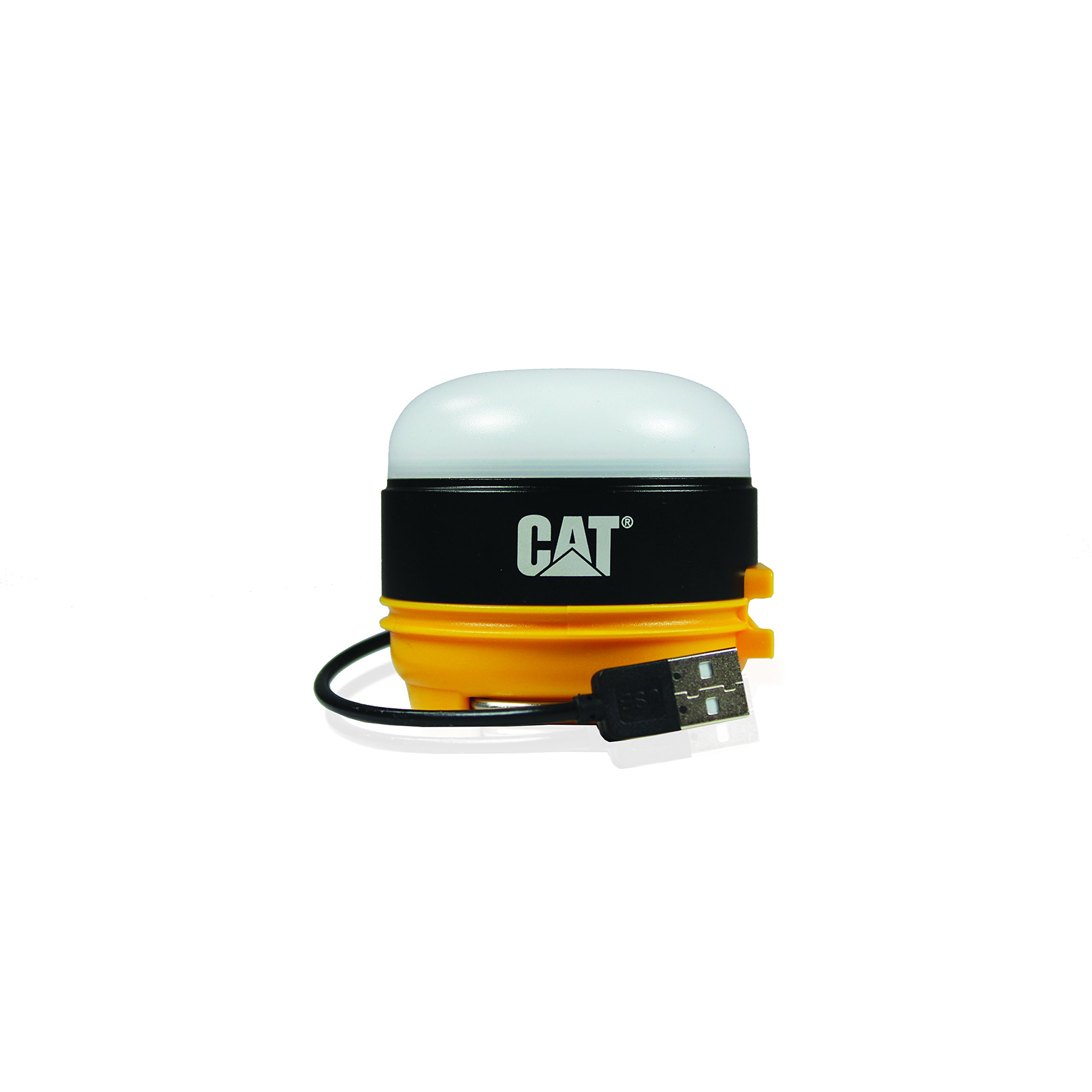 CAT CT6525 200 lm Rechargeable Micro Utility Work Light with Magnetic Base, Black/Yellow by Caterpillar