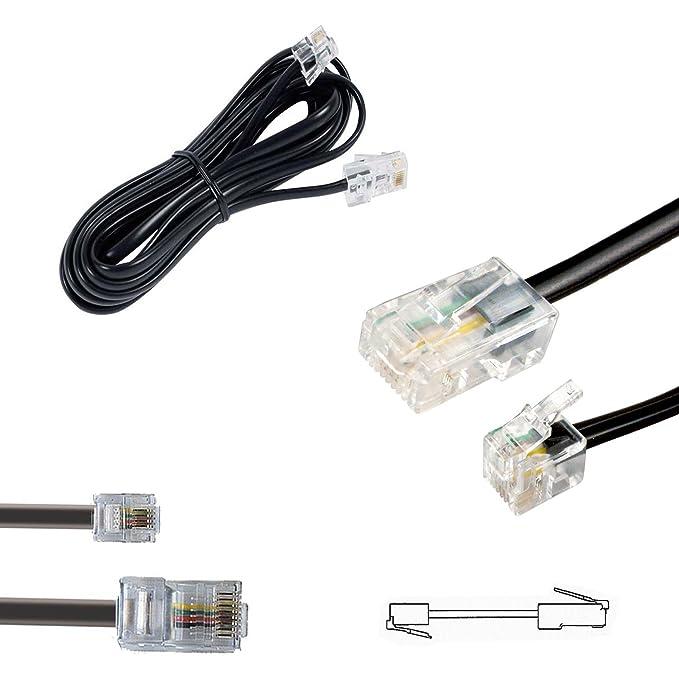 1 opinioni per HASH da RJ11a RJ45Ethernet/Telefono/piombo cavo Collegare Router RJ45ADSL a