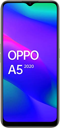 OPPO A5 2020 (Mirror Black, 64 GB)(4 GB RAM)