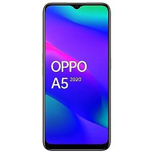 OPPO A5 2020 (Dazzling White, 4GB RAM, 64GB Storage) with...