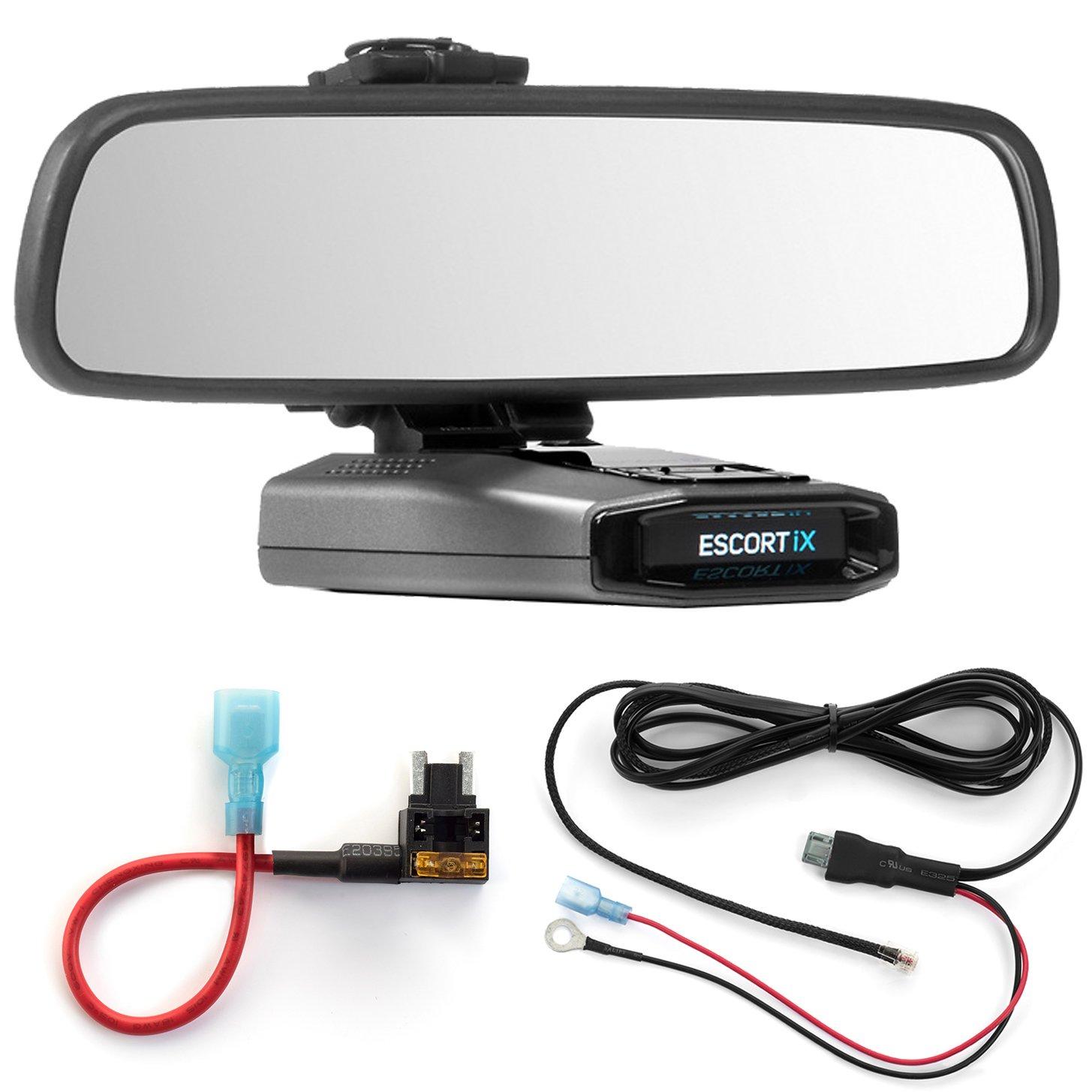 Radar Mount Mirror Mount Micro Fuse Tap Escort IX EX Max360C 3001507 Direct Wire Power Cord
