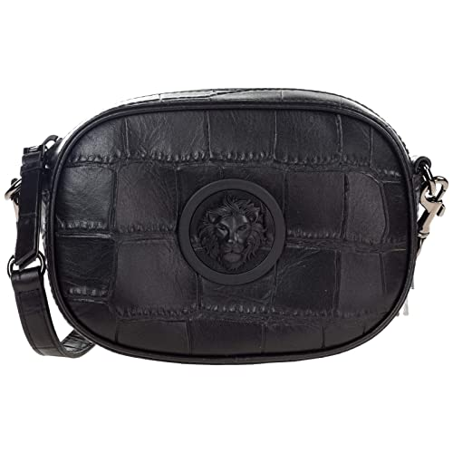 cde0c5fb82 Versus Versace women Lion Head crossbody bag black  Amazon.co.uk  Shoes    Bags